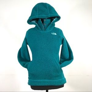 North Face Fleece Hooded Pullover